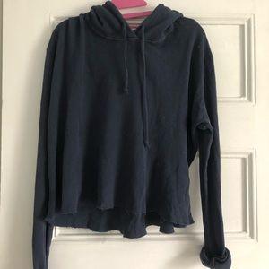 brandy thermal sweatshirt